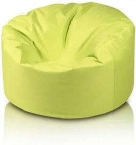 Ecopuf Sedací vak ECOPUF - MINI ISLAND polyester NC1 - Svetlo zelená