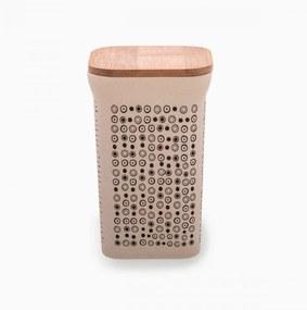 Lunasol - Hranatá dóza s uzáverom 1420 ml - Bamboo Fiber (593061)
