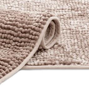 AmeliaHome Kúpeľňový koberec Bati púdrovo ružový