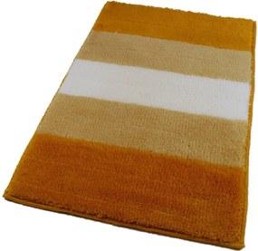 ROUTNER Kúpeľňová predložka BARLETTA Žltá 10705 - Žltá / 70 x 120 cm 10705