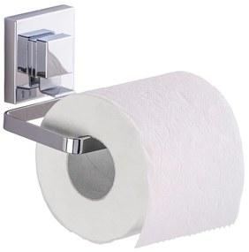 Samodržiaci držiak na toaletný papier Wenko Vacuum-Loc Quadrio, nosnosť až 33 kg