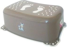 Maltex Detské stúpadlo k WC Zebra 6913 hnedé