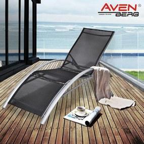 SET 2 KS - Komfortné relaxačné polohovateľné lehátko-kreslo AVENBERG GOMERA