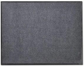 vidaXL Šedá PVC rohožka 90 x 60 cm