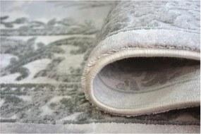 Luxusný kusový koberec akryl Dalas sivý, Velikosti 80x150cm