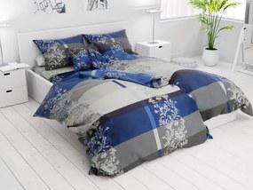 Bavlnené obliečky 7 dielne Luxury modré