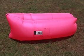 BEZDOTEKU Nafukovací sedací vak iPRO Nylon růžový