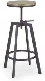 Barová stolička H64 (hnedá)