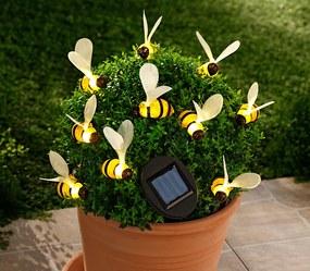 Solárna svetelná reťaz Včielky