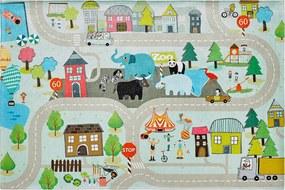 Obsession koberce Dětský kusový koberec Torino kids 231 STREET - 120x170 cm