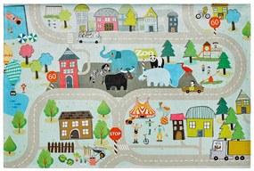Kusový koberec Torino kids 231 STREET - Obsession koberce - 80x120 - Obsession koberce