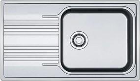 Franke Smart SRX 611-86 LB, 860x500 mm, nerezový drez 101.0395.055