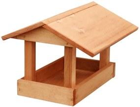 KRMÍTKO Kŕmidlo drevené č. 19, 24x30x20 cm, hnedé