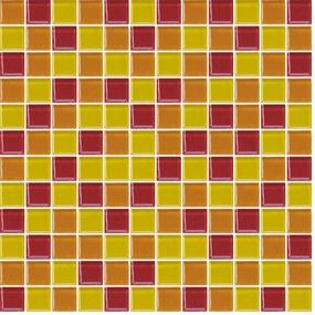 Sklenená mozaika Premium Mosaic vícebarevná 30x30 cm lesk MOS25MIX7