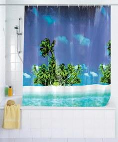 Sprchový závěs Pláž