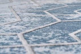 Luxusný kusový koberec akryl Henry modrý, Velikosti 120x180cm