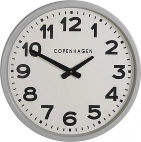 IB LAURSEN Nástenné hodiny Copenhagen Grey 52cm