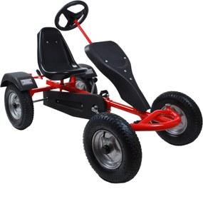 2-miestna detská motokára Go Kart - červená 24502