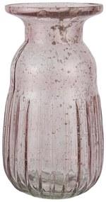 IB LAURSEN Váza Hyacint Pebbled Glass Rose