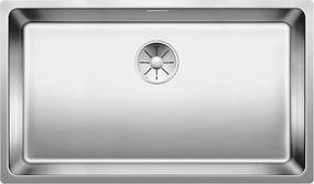 Kuchynský drez pod desku - Blanco Andante 700 U nerez hodvábny lesk s tiahlom 522972