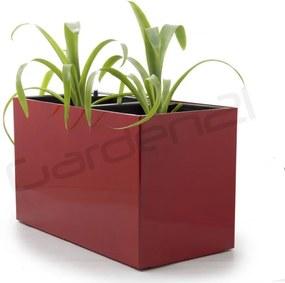 Samozavlažovací kvetináč G21 Combi červený 56x28cm