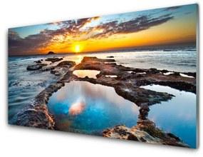 Nástenný panel More slnko krajina 120x60cm