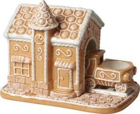 Svietnik, vlaková stanica Winter Bakery Decoration
