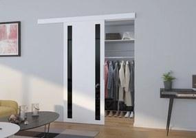 Posuvné dvere na stenu biele Game - S dojezdem