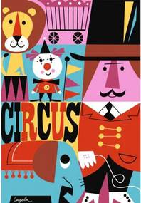 OMM Design Plagát 50x70 Cirkus