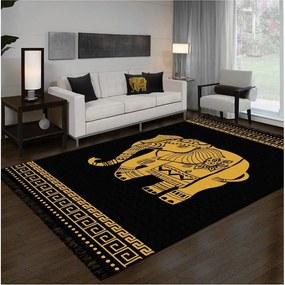 Obojstranný umývateľný koberec Kate Louise Doube Sided Rug Elephant, 120 × 180 cm