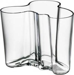 Váza Alvar Aalto 120mm, číra Iittala