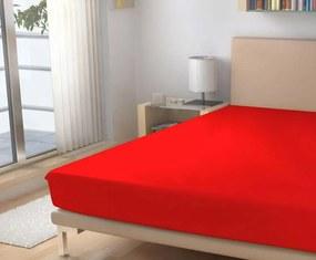 Polášek Plachta jersey červená 180/200 cm