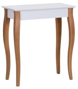 RAGABA Lillo konzolový stôl úzky, biela