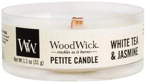 WoodWick vonná sviečka Petite White Tea & Jasmine