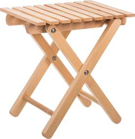 ČistéDrevo Drevená skladacia stolička