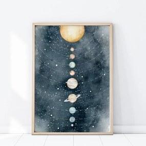 lovel.sk Plagát Space - slnečná sústava P316
