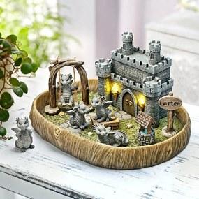 Miniatúrna dračia záhradka