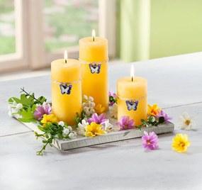 Dekoratívna sada so sviečkami Jarné kúzlo