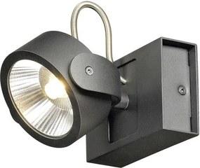 Stropné svietidlo SLV KALU 1x LED 3000K černé 60° 1000127