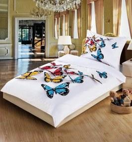 Obliečky 3D Motýle