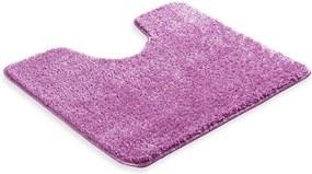 Škodák Kúpeľňová / WC predložka s výkrojom - vzor Pirlanta svetlo fialová - 60x50cm