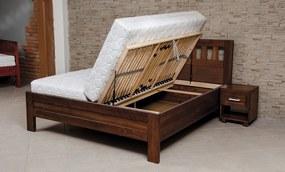 PROXIMA.store - Masívna buková posteľ ELLEN SET - 90/140/160/180 Rozmery: 140x200cm, Dekór: Mahagon