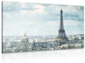 Obraz zimný Paríž