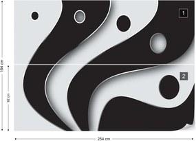 Fototapeta GLIX - 3D Layers  + lepidlo ZADARMO Vliesová tapeta  - 254x184 cm