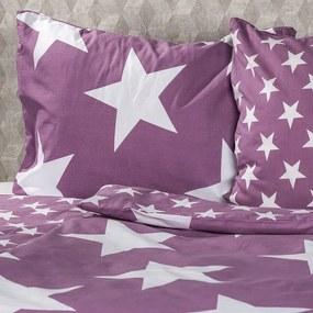 JAHU obliečky New Stars lososová, 140 x 200 cm, 70 x 90 cm