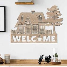 Dekorácia na stenu do chodby - Welcome