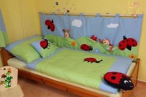 Vreckár za posteľ Lienka Katka