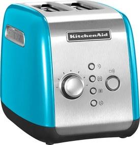 KitchenAid Hriankovač na 2 plátky krištáľovo modrá