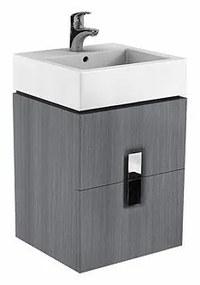 Skříňka pod umyvadlo KOŁO TWINS - šedá