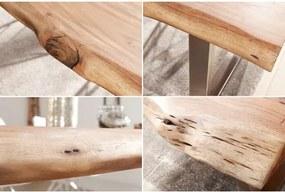Jedálenský stôl 36644 200x100cm Masív drevo Acacia/Agát-Komfort-nábytok